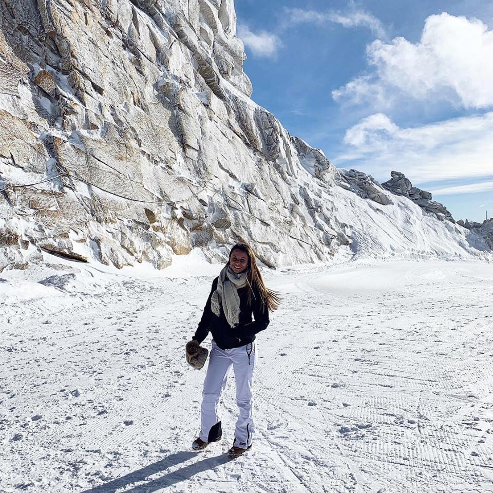 Jochen Schweizer Hintertux Glacier Austria Ski